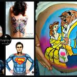 Body painting / Pregnancy belly painting