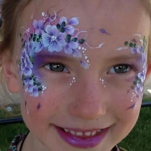 Fairy face painting- Clare Jeffery 522