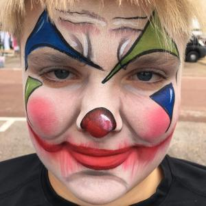 Clown face- Angela Youngs 462