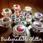 Help save our eco system, specifically our marine life by choosing biodegradable festival glitter over plastic glitters.  These are soft on your face and adhered with a glitter gel specifically made for use on the face.